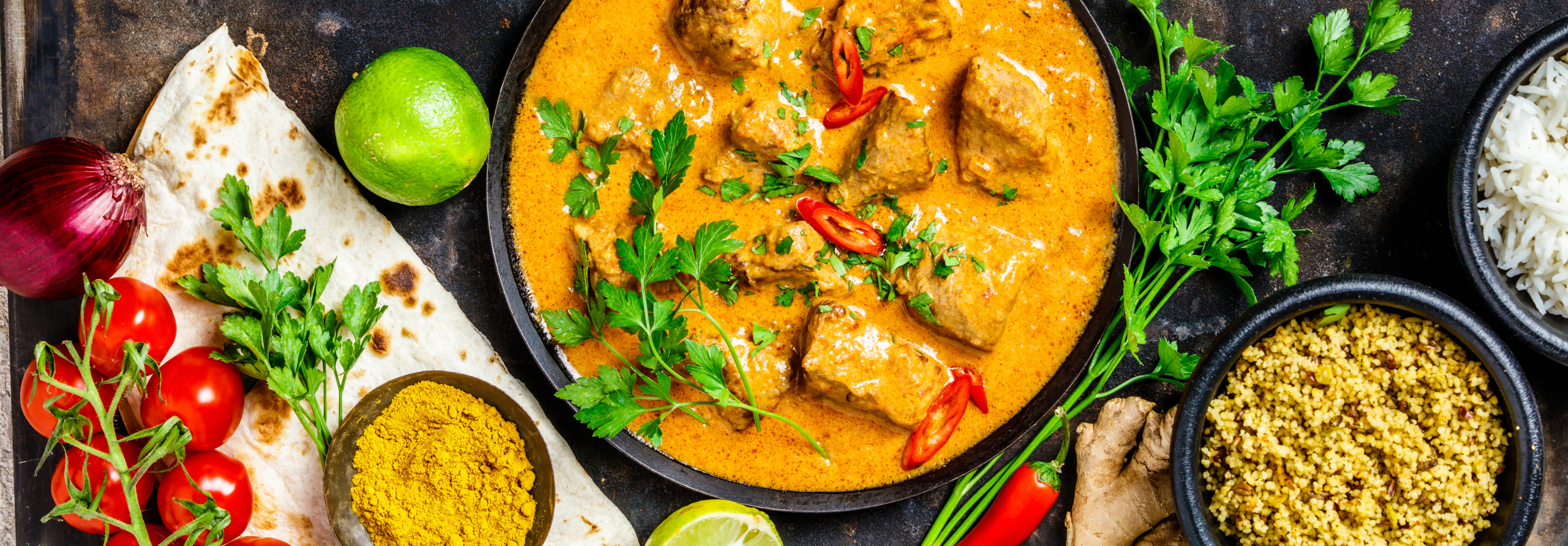 Curry tradizionale thailandese